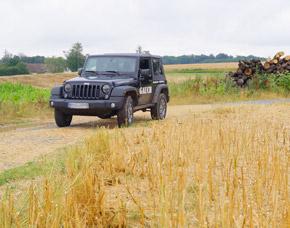 Jeep Wrangler Unlimited - 60 Minuten Jeep Wrangler Unlimited offroad fahren - 60 Minuten