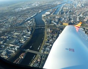 Flugzeug-Rundflug - 30 Minuten - Rotenburg (Wümme) 50 Minuten