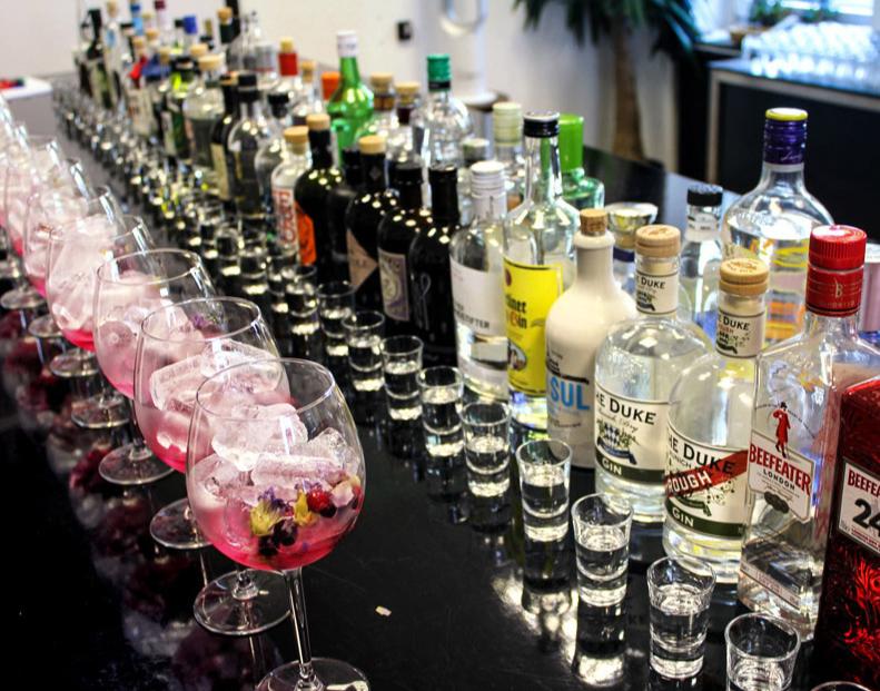 Gin Seminar Trier entspricht JS 5300035979 von 5-6 Gins aus gesamt 35 Gins & verschiedene Tonics