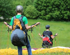 Gleitschirm-Kurs - Grundkurs 4 Tage Grundkurs - 4 Tage - Allgäuer Alpen