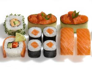 Sushi Restaurants (Sushi-Mittagsmenü) - Frankfurt am Main, Neue Mainzer Straße 84 Mittagsmenü, inkl. Tee & Wein