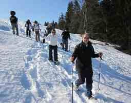 Schneeschuhwanderung Rodelabfahrt - Reit im Winkl Schneeschuhwanderung mit Rodelabfahrt - 5 Stunden