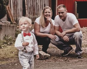 Familien-Fotoshooting Waldbron...
