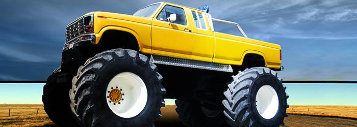 Monster Truck fahren