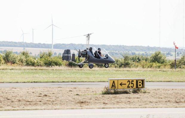 tragschrauber-selber-fliegen-wallerfangen-dueren-start