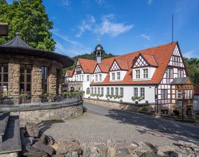 Zauberhafte Unterkünfte für Zwei (Doppelzimmer) Gasthaus Feengrotten - Führung Saalfelder Feengrotten