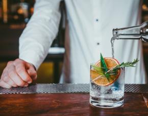Gin-Tasting - Weinkellerei Dünker - Frankfurt am Main von 10 Sorten Gin  & Tonic Water