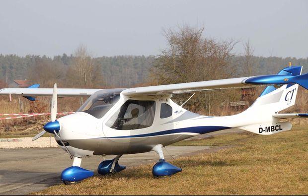 flugzeug-selber-fliegen-nittenau-bruck-schnupperflug