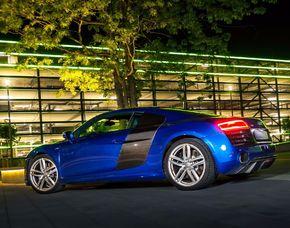 Audi R8 Coupé V10 fahren - 24 Stunden ohne Instruktor 100km R8 V10 Coupé - 24 Stunden ohne Instruktor