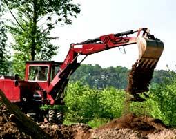 Bagger Fahren   Straelen 11-Tonnen Radbagger - Spaßbaggern - 60 Minuten