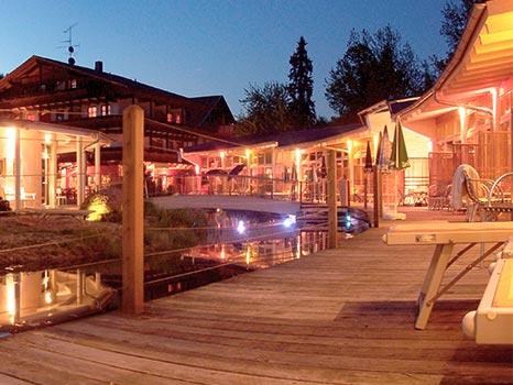 Romantikwochenende (Little Romance für Zwei) Bayerischer Wald Viechtach Adventure Camp Schnitzmühle