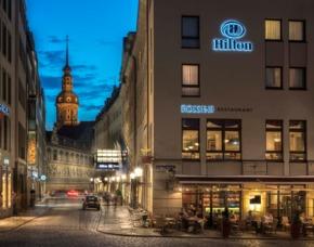 Städtetrip Hilton Hotel Dresden - 2 ÜN - Hilton Hotel Dresden Hilton Hotel Dresden - inkl. Nutzung des LivingWell Health Clubs