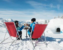 Schweizer Romantik-Iglu für Zwei   Gstaad im 2er-Iglu - Käsefondue