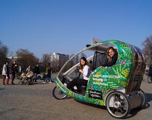 Stadtrundfahrt - Stuttgart Velotaxi-Tour
