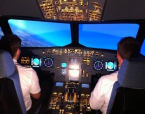 3D-Flugsimulator Düsseldorf