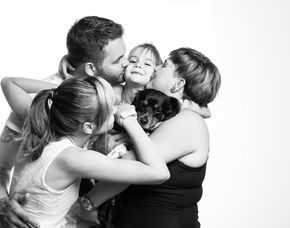 Familien-Fotoshooting - Mannheim inkl. 2 Prints, ca. 1 Stunde