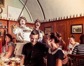 Mittelalterlicher Festschmaus Mittelalterlicher Festschmaus - 4-Gänge-Menü, inkl. Getränke