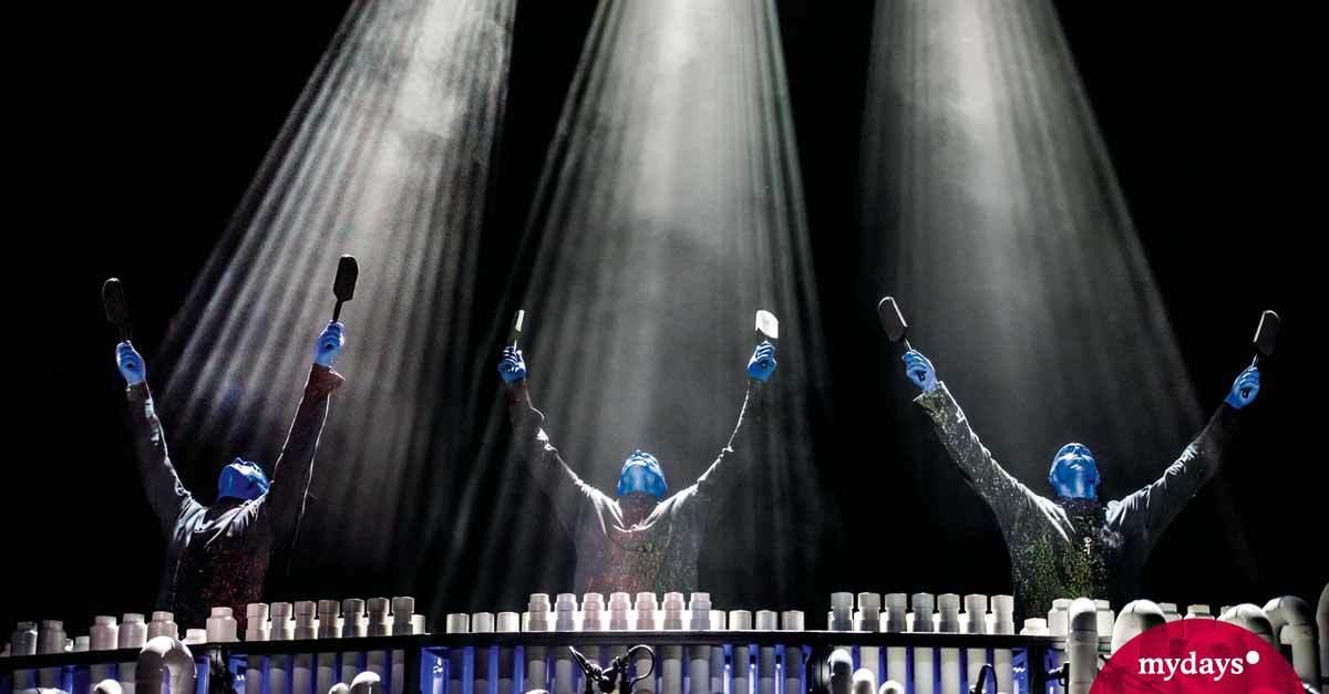 BLUE MAN GROUP in Berlin als Geschenk I mydays