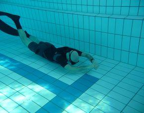 Schnuppertauchen Freediving (Apnoe) - Kempten Schnuppertauchen Freediving, Pool - ca. 3 Stunden