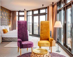 Kurzurlaub - Suite - 2 ÜN Hotel im Bunker