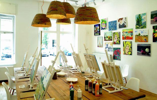 malkurs f r kinder in berlin prenzlauer berg mydays. Black Bedroom Furniture Sets. Home Design Ideas