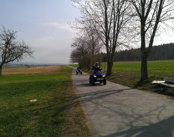 Quad Tour - Bodensee Quad-Tour Bodensee - 3,5 Stunden