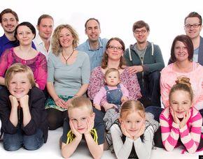 Familien-Fotoshooting inkl. 1 Print oder 1 Bild digital, ca. 1 Stunde