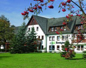 Kurzurlaub inkl. 80 Euro Leistungsgutschein - Waldhotel Kreuztanne - Sayda Waldhotel Kreuztanne