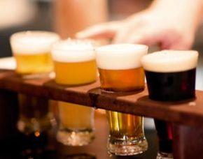 Bierverkostung München von 9 Sorten Bier