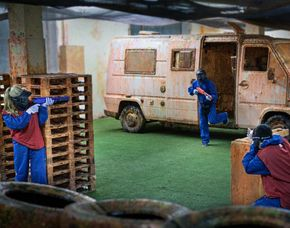 Paintball - 1 Stunde 250 Paints - Indoor
