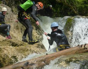 Canyoning - Schnuppertour Attersee - Ca. 3 Stunden