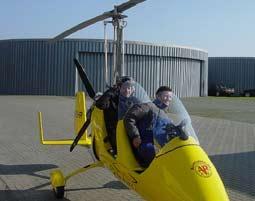 Tragschrauber-Rundflug   Wesel 30 Minuten