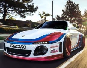 Porsche G-Force Drifttaxi Porsche G-Force - Nürburgring
