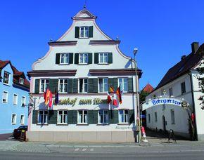 Kurzurlaub inkl. 30 Euro Leistungsgutschein - Gasthof zum Hirsch - Ichenhausen Gasthof zum Hirsch