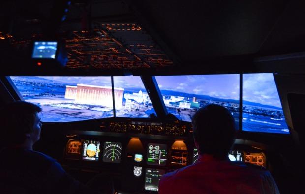 3d-flugsimulator-b737-wiesbaden-landung