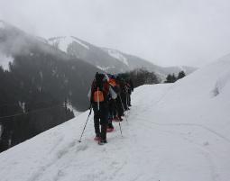 Schneeschuhwanderung mit Hütteneinkehr - Schneizlreuth Wanderung inkl. Bewirtung - ca. 4 Stunden