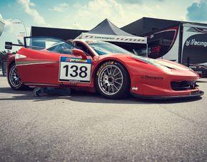Renntaxi Ferrari F458 - 4 Runden Ferrari F458 - 4 Runden - Nürburgring