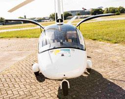 Tragschrauber selber fliegen - 60 Minuten in einem geschlossenen Tragschrauber - 60 Minuten