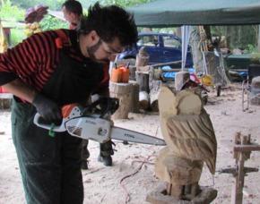 Moderner Bildhauer-Workshop St...