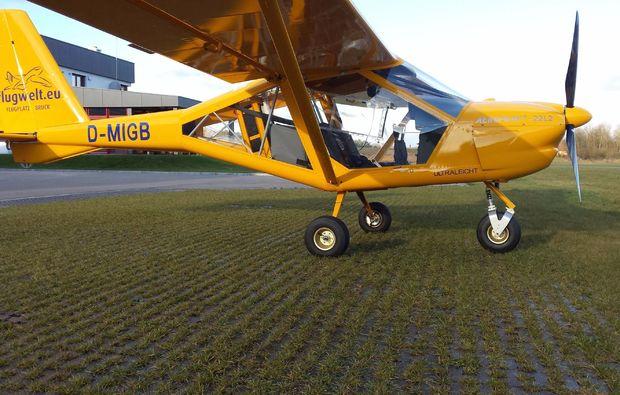 flugzeug-selber-fliegen-weiden-oberpfalz-flugspass