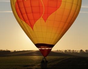 Romantische Ballonfahrt Mellri...