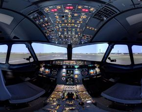 Flugsimulator - A320 - 90 Minuten Airbus A320 - 90 Minuten