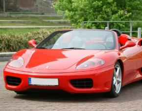 Ferrari F360 Spieder selber fahren 30Min Niederaula Ferrari F360 Spider - 30 min Fahrzeit