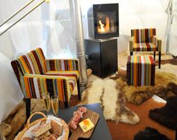 Hot Iglu Übernachtung im 2er-Iglu - Käsefondue