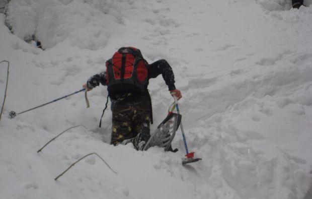 schneeschuh-wanderung-bischofsgruen-aufstieg