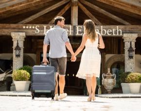 Kuschelwochenende (Voyage d´Amour für Zwei) Hotel Elisabeth - 5-Gänge-Menü