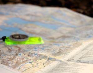 bushcraft-kompass-karte