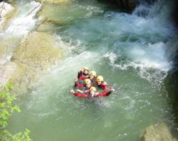 Erlebnisse: Aktivurlaub im Wasser Hirschegg / Kleinwalsertal