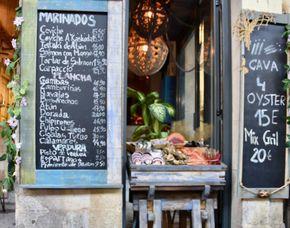 Stadtführung - Tapas Tour - Hotel Suizo - Barcelona Verkostung verschiedener Tapas, inklusive passender Getränkebegleitung