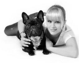 Animalisches Fotoshooting - Bremen (Kleintiershooting) für 1 Person & 1 Tier, 2 Bilder digital, ca. 1 Stunde